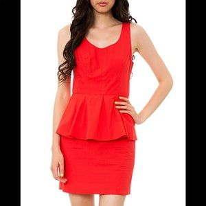 Jack by BB Dakota Damon Peplum mini Dress